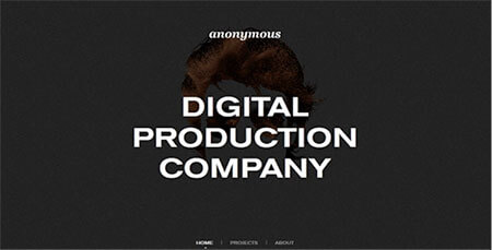Anonymous - digital production company
