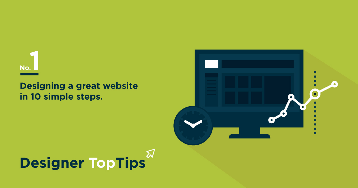 Designing a great website in 10 simple steps | Blog | Blog: www.extramilecommunications.com/Blog/designing-a-great-website-in...