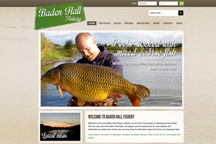 Baden Hall Fishery Website