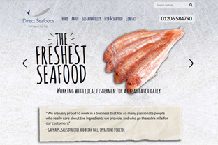 Direct Seafoods Website